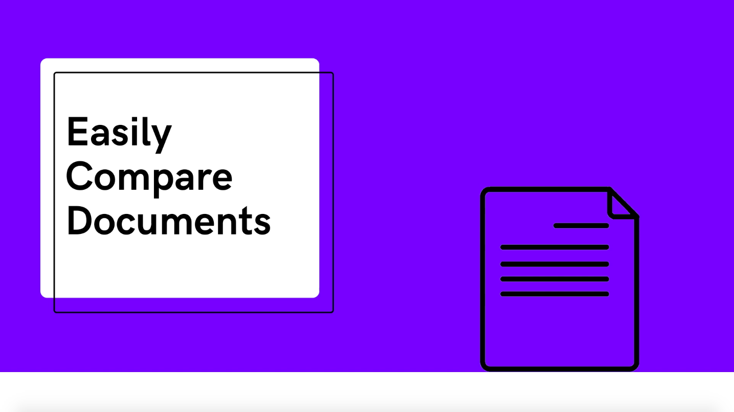 Easily Compare Documents